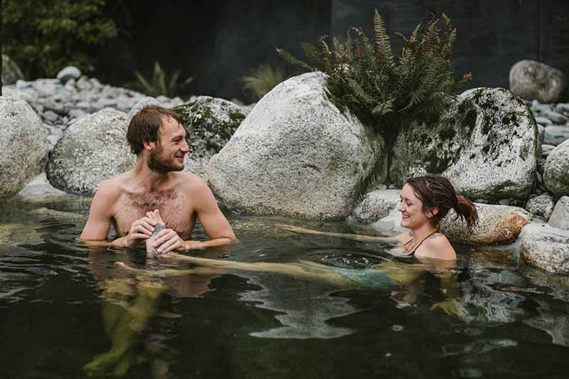Hot pools nouvelle zelande
